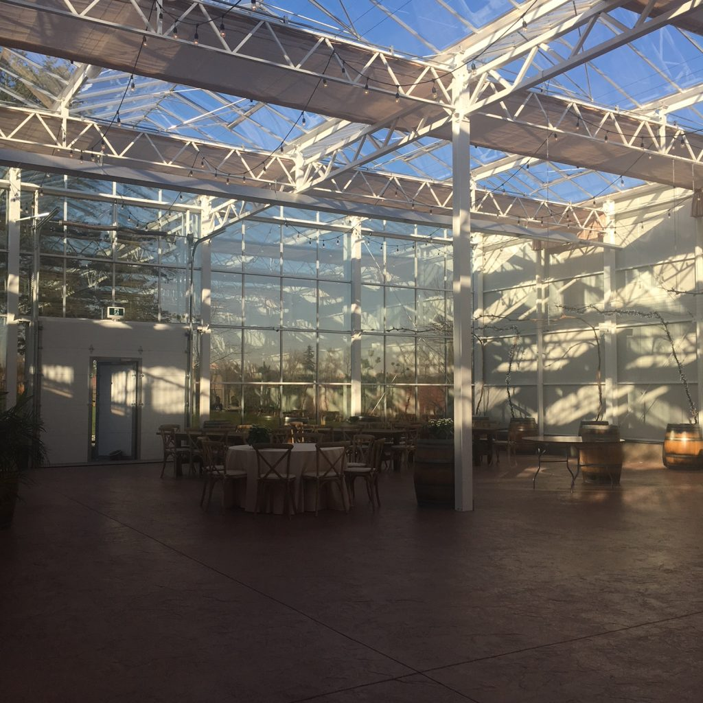 Glass House Estate Winery events room