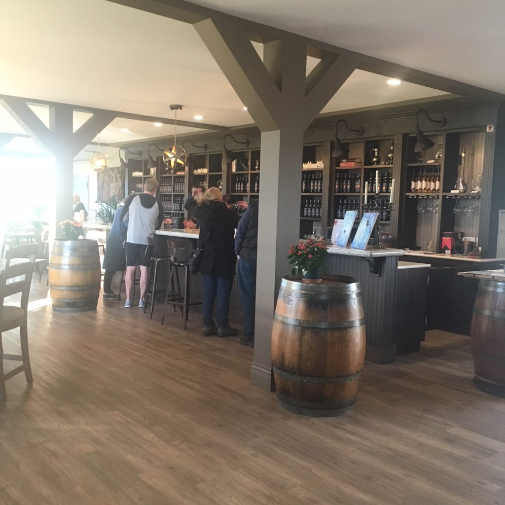 Glass House Estate Winery tasting room