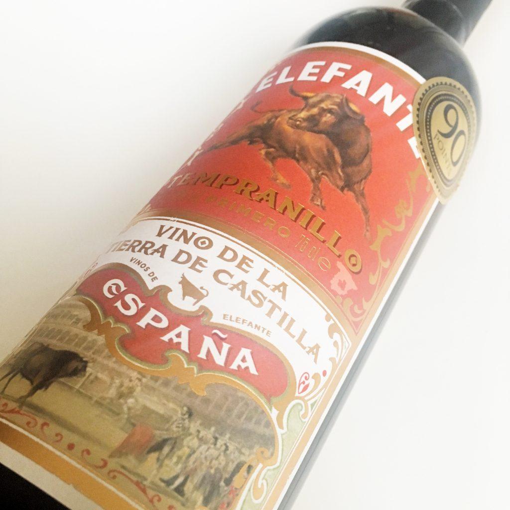Spanish Wine: CASTILLA TEMPRANILLO - ELEFANTE PRIMERO