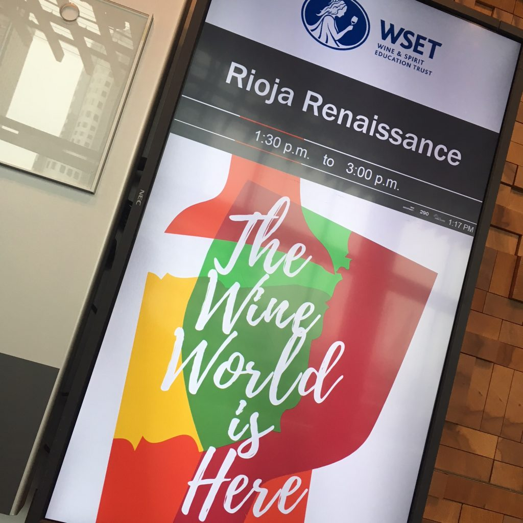 Rioja Renaissance seminar at VIWF 2018