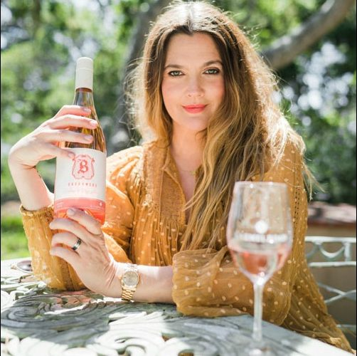 Photo: www.thewinesiren.com Drew Barrymore - Celebrity Wines
