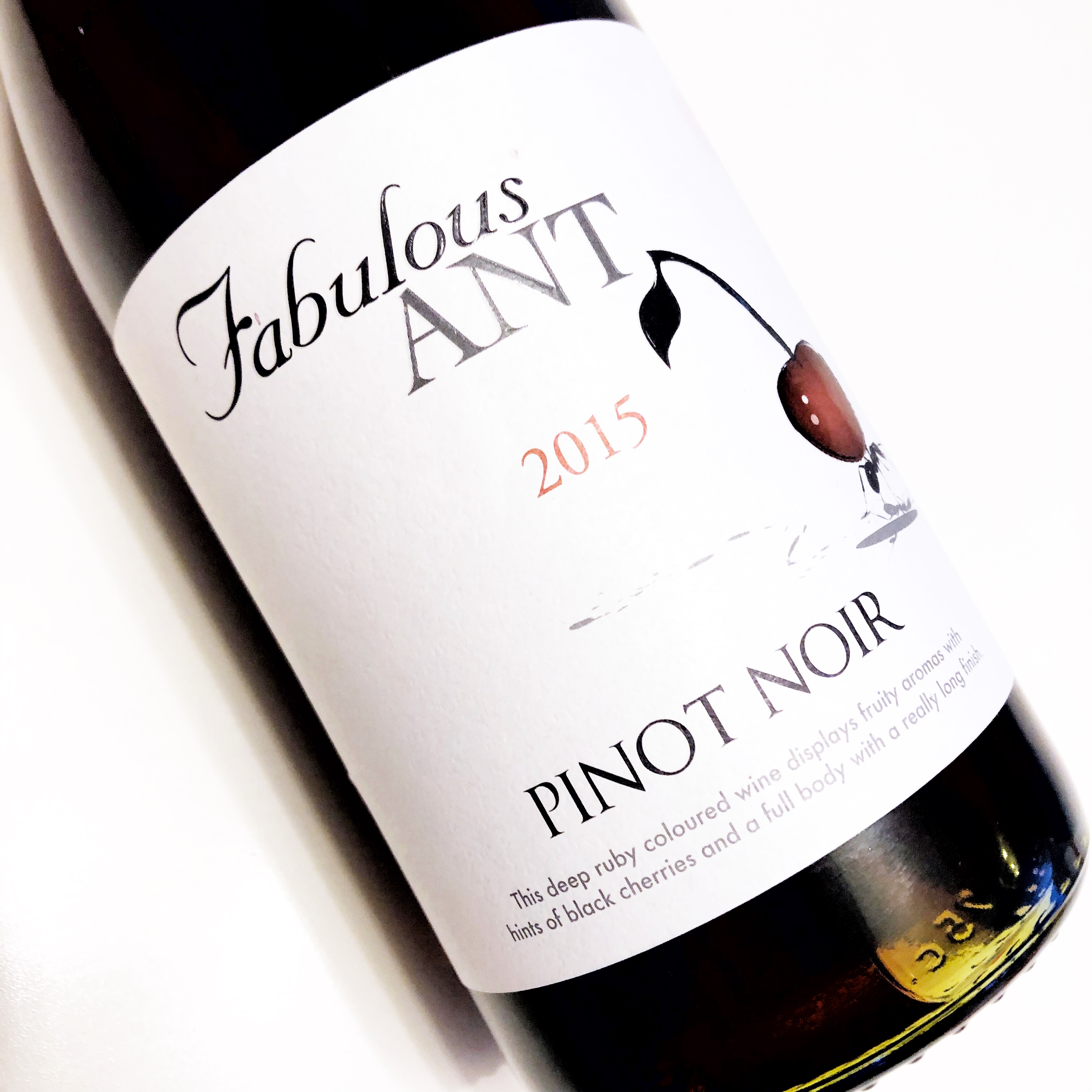 Fabulous Ant Pinot Noir - Valentine's Day wine