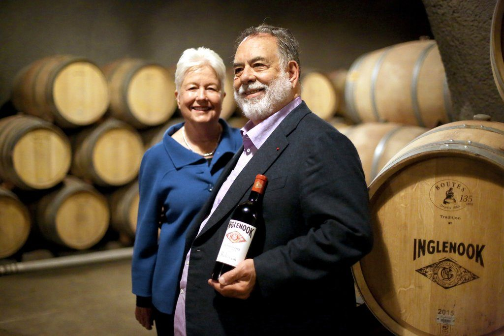 Photo: Jay Wilson / www.nytimes.com Francis Ford Coppola - Celebrity Wines