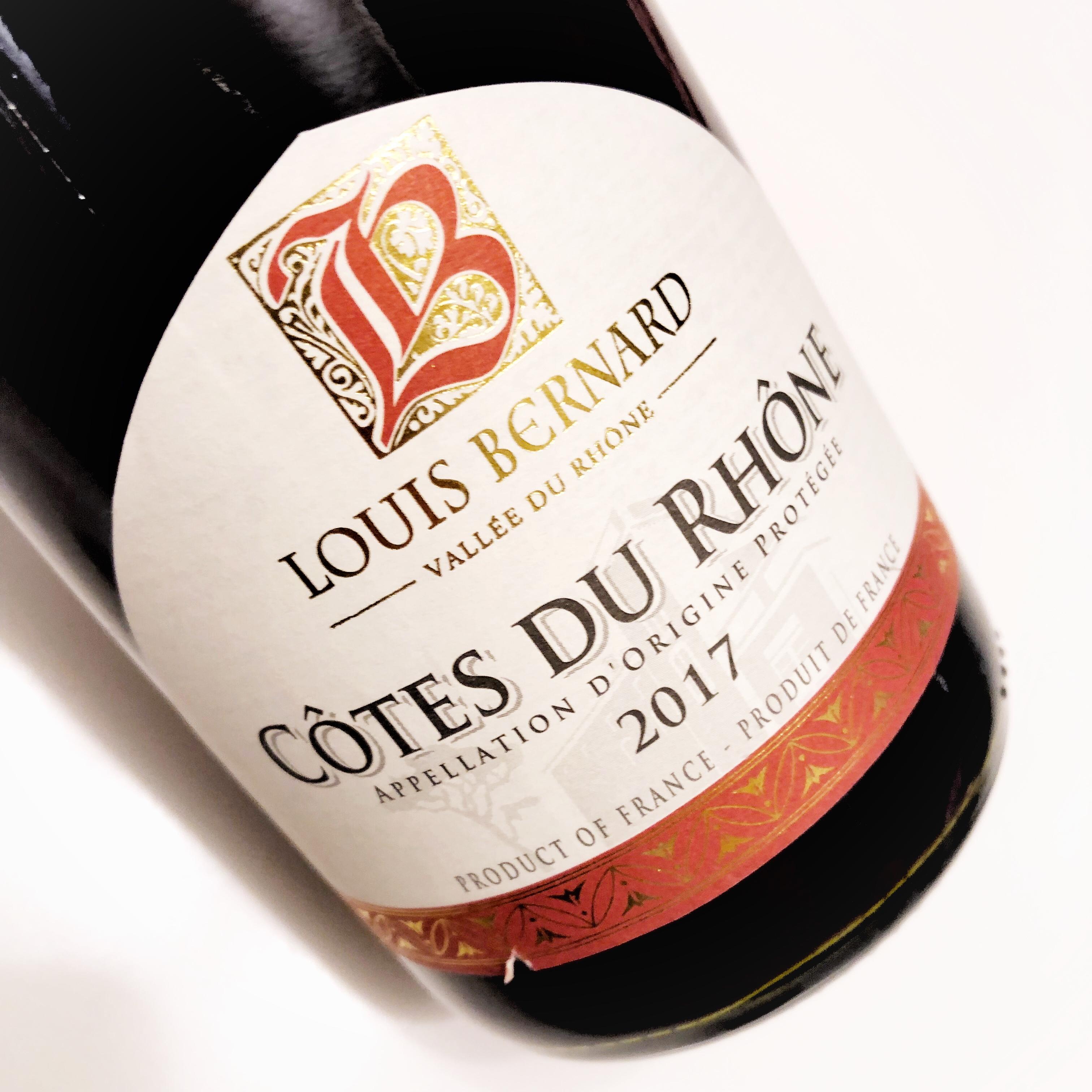 Louis Bernard Cotes du Rhone - Valentine's Day wine